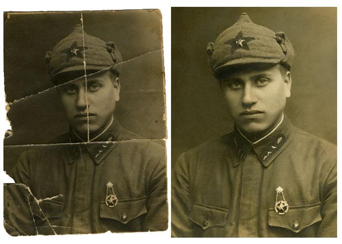 Восстановление и реставрация старых фотографий